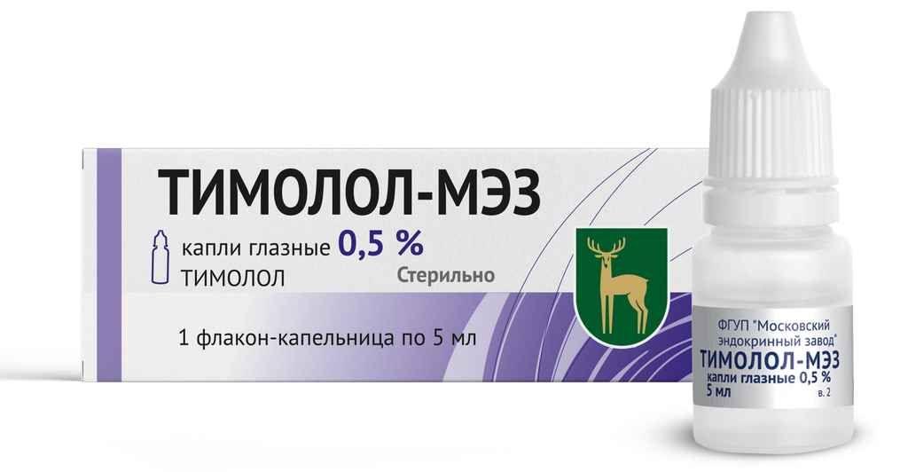 фото упаковки Тимолол-МЭЗ