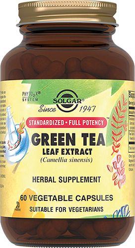 фото упаковки Solgar Экстракт листьев зеленого чая