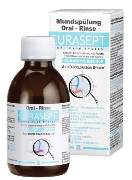 Curasept Ополаскиватель ADS205, раствор для полоскания полости рта, 200 мл, 1 шт.