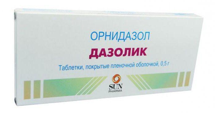 Дазолик, 500 мг, таблетки, покрытые оболочкой, 10 шт.