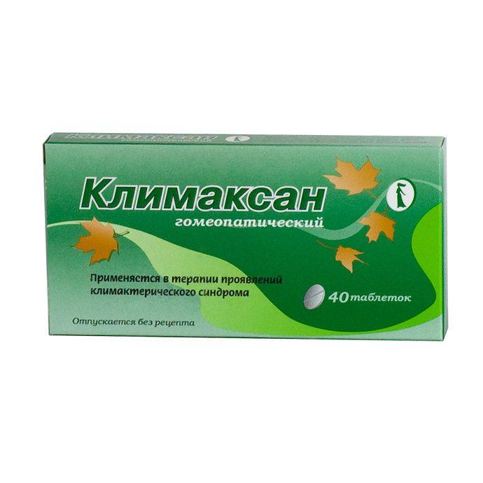 фото упаковки Климаксан гомеопатический