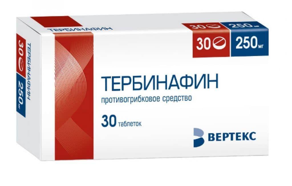 фото упаковки Тербинафин