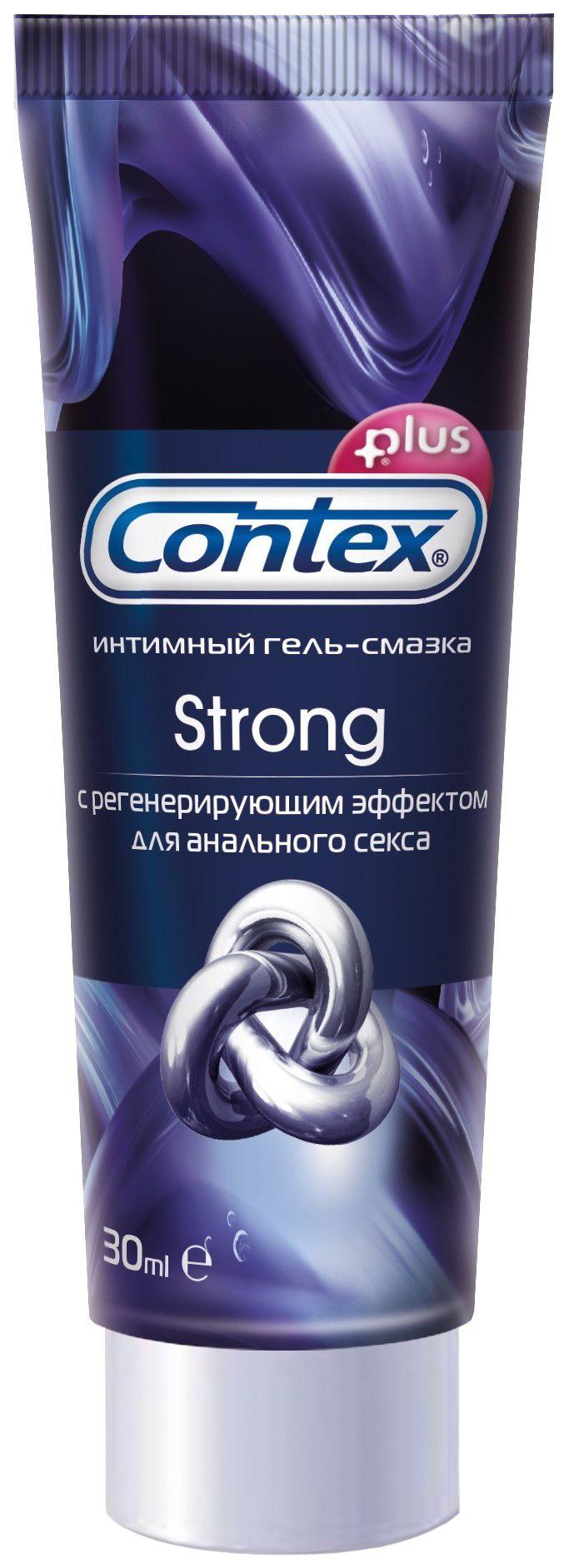 Гель-смазка Contex Strong, гель, с регенерирующим эффектом, 30 мл, 1 шт.