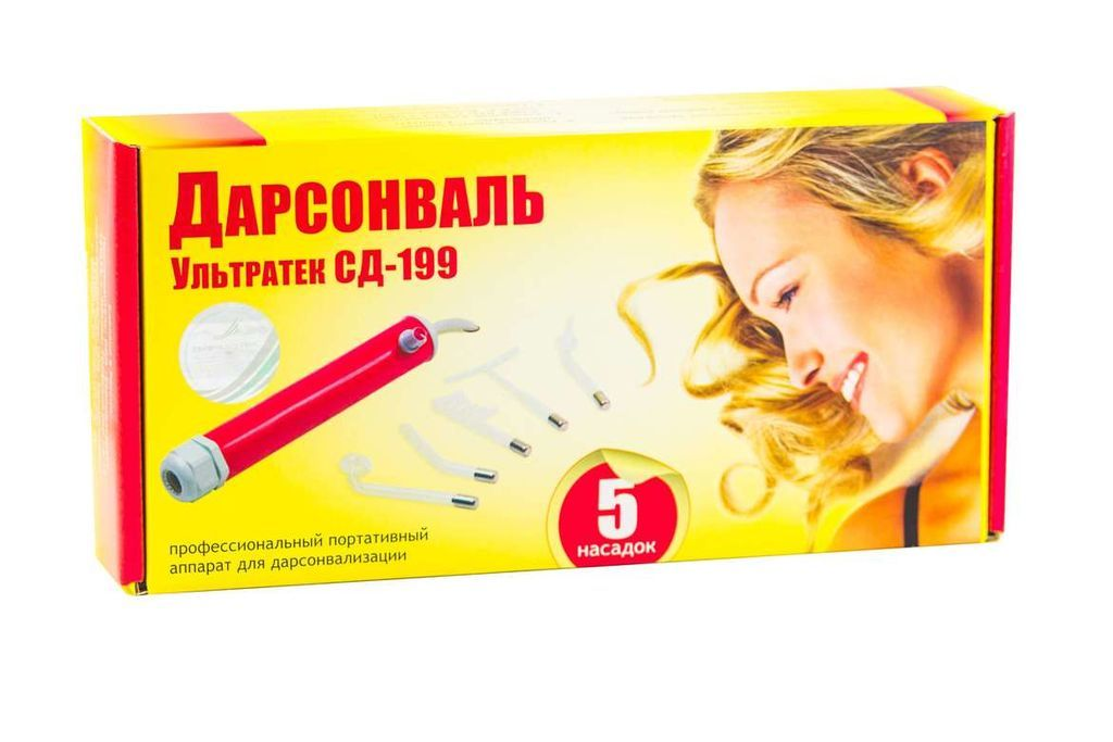 фото упаковки Дарсонваль Ультратек СД-199