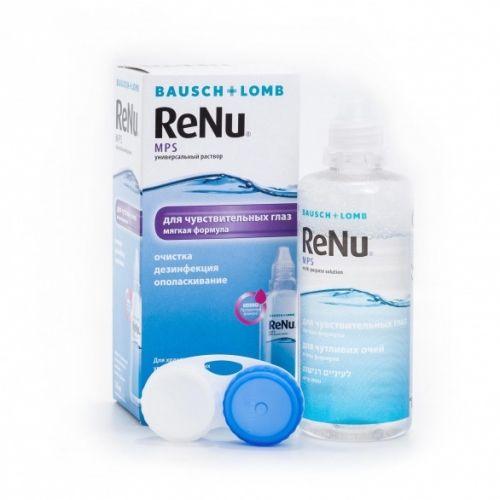 фото упаковки ReNu MPS для чувствительных глаз