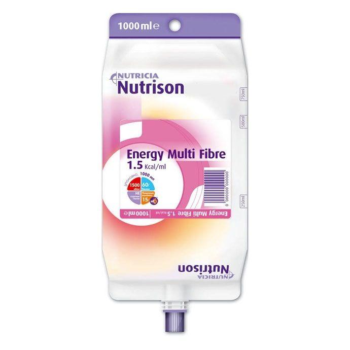 Nutrison Energy, смесь жидкая, 1 л, 1 шт.
