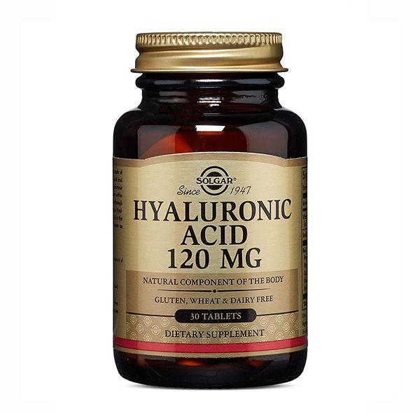 фото упаковки Solgar Гиалуроновая кислота 120 мг