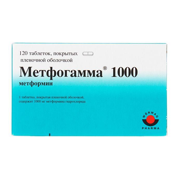 фото упаковки Метфогамма 1000