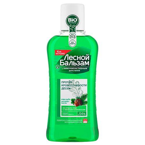 фото упаковки Лесной бальзам Ополаскиватель Против кровоточивости десен