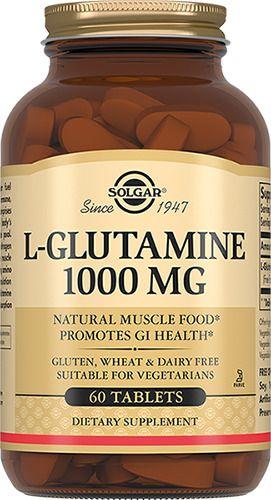 фото упаковки Solgar L-глутамин 1000 мг