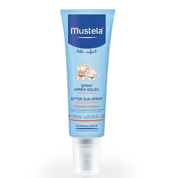фото упаковки Mustela молочко после загара для детей