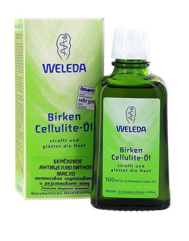 фото упаковки Weleda Масло антицеллюлитное березовое