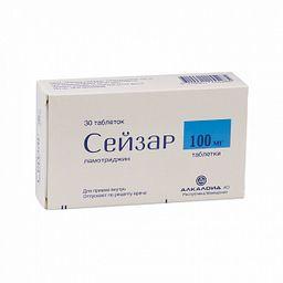 Сейзар, 100 мг, таблетки, 30шт.