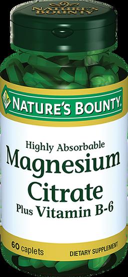 Natures Bounty Цитрат Магния с витамином В-6