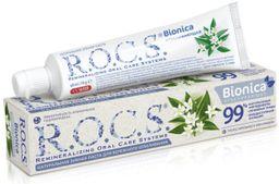 ROCS Зубная паста Bionica отбеливающая, без фтора, паста зубная, 74 г, 1 шт.