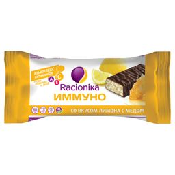 Racionika Diet батончик, со вкусом меда и лимона, 30 г, 1 шт.