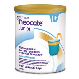 Neocate Junior сухая смесь на основе аминокислот с 1 года