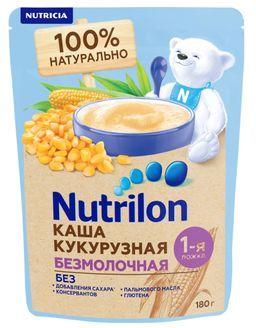 Nutrilon Безмолочная кукурузная каша, 180 г, 1шт.