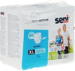 Подгузники-трусы для взрослых Seni Active, Extra Large 4 (120-160 см), 10 шт.