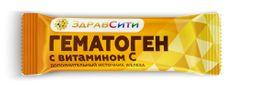 Здравсити Гематоген с витамином С, 40 г, 1 шт.