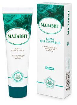 Малавит крем для суставов, крем для наружного применения, 100 мл, 1шт.