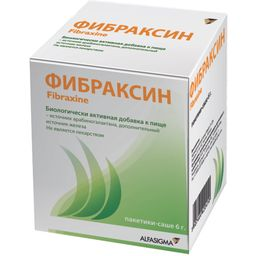 Фибраксин, 6 г, 15 шт.