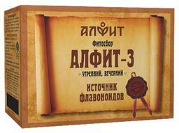 Алфит-3 фитосбор печеночный, 2 г, брикеты, утренний, вечерний, 60шт.