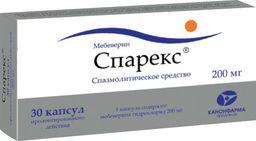 Спарекс, 200 мг, капсулы пролонгированного действия, 30 шт.
