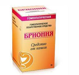 Бриония, гранулы гомеопатические, 8 г, 1 шт.