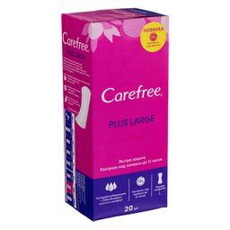 Carefree plus Large салфетки женские гигиенические ежедневные