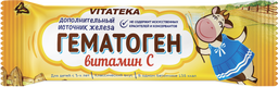 Витатека Гематоген с витамином С, 40 г, 1 шт.