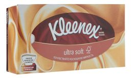 Kleenex Ultra Soft Салфетки в коробке, салфетки, 56 шт.