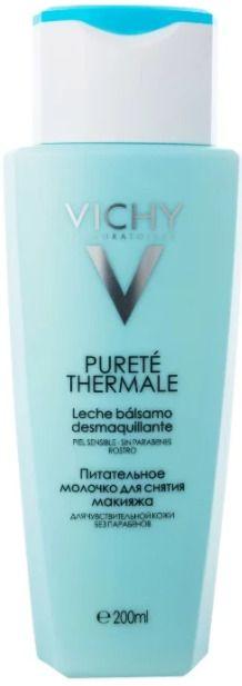 Vichy Purete Thermale питательное молочко для снятия макияжа, молочко для лица, 200 мл, 1 шт.