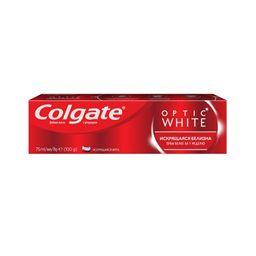 Colgate Паста зубная Optic White, паста, 75 мл, 1шт.