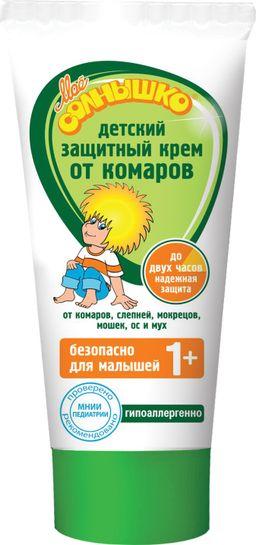 Мое солнышко Крем от комаров детский защитный, крем, 50 мл, 1шт.