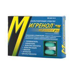 Мигренол ПМ, таблетки, покрытые пленочной оболочкой, 16шт.