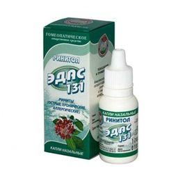 Эдас-131 Ринитол, капли назальные гомеопатические, 15 мл, 1 шт.