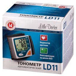 Тонометр автоматический Little Doctor LD11 на запястье, 1 шт.