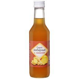 Сироп Имбирный с лимоном на фруктозе