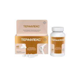 Терафлекс, 500 мг+400 мг, капсулы, 60шт.