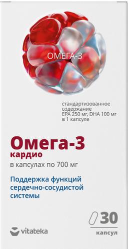 Витатека Омега-3 90%, 700 мг, капсулы, 30 шт.