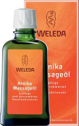 Weleda Масло массажное с арникой, масло косметическое, 100 мл, 1 шт.