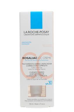 La Roche-Posay Rosaliac СС SPF30 корректирующий уход, крем для лица, для кожи, склонной к покраснению, 50 мл, 1шт.