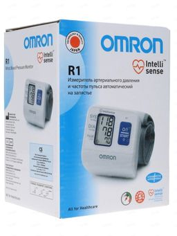 Тонометр автоматический OMRON R1 на запястье, 1шт.