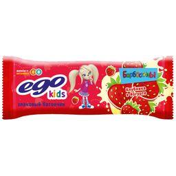 Батончики мюсли EGO с клубникой в йогурте
