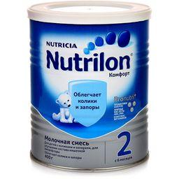 Nutrilon 2 Комфорт, смесь молочная сухая, 400 г, 1шт.