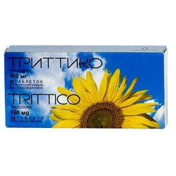 Триттико, 150 мг, таблетки с контролируемым высвобождением, 20 шт.