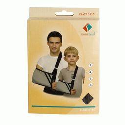 Повязка медицинская поддерживающая ELAST для фиксации руки, мод 0110, размер 2 (30-38см), повязка, 1шт.