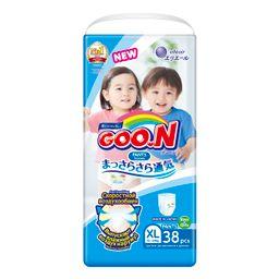 Подгузники-трусики детские GOON, 12-20 кг, XL (12-20 кг), 38 шт.