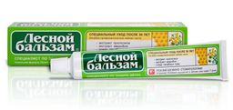 Лесной бальзам Зубная паста с экстрактом прополиса и зверобоя, паста зубная, 75 мл, 1 шт.